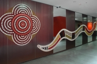 Creative services for Meriton lobby