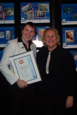 Australian Sign and Graphics Awards - Apprentice Signwriter Receives Bronze Award